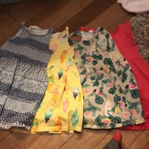 H&M toddler dresses - 5 included.